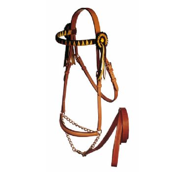 Presentation Halter with Show Browband